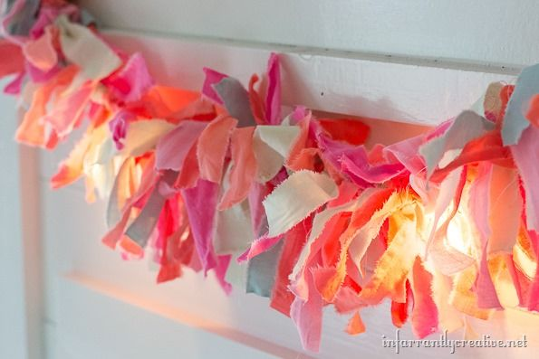 Lighted Fabric Strips
