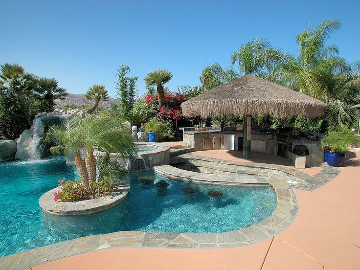 605 best POOLS images on Pinterest | Swimming pools, Backyard ...