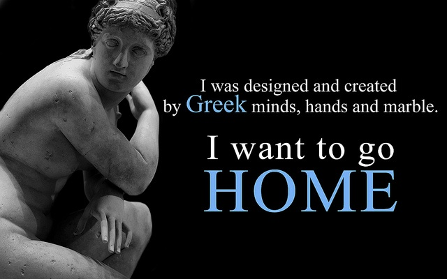 I want to go home. Acropolis Museum