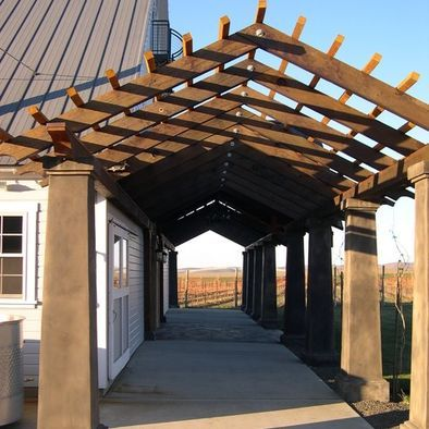 45 Best Images About Pergola W Roof On Pinterest Arbors