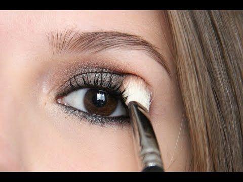Gözü Büyük Gösteren Aşırı Kolay Göz Makyajı Tekniği - YouTube