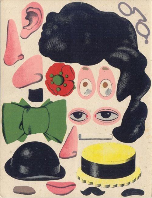 : Petite Tete, Coverpost Design, Illustrations Inspiration, Faces, Paper Dolls, Design Art, Paperdolls, Covers Art, Photo