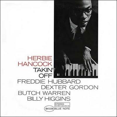 "Herbie Hancock ""Takin' Off"" -Reid Miles (Photo by Francis Wolff)"