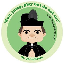 Adorable Saint Graphics, this blogger posts them as they relate to their feast days.