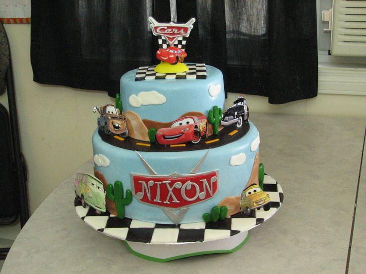 Disney Cars Birthday Cake: 1000+ Ideas About Car Cakes On Pinterest