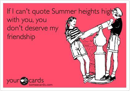 summer heights high <3