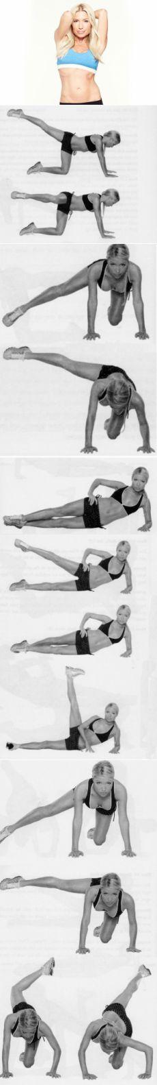 Комплекс упражнений от Трейси Андерсон для проработки каждой группы ваших мышц
