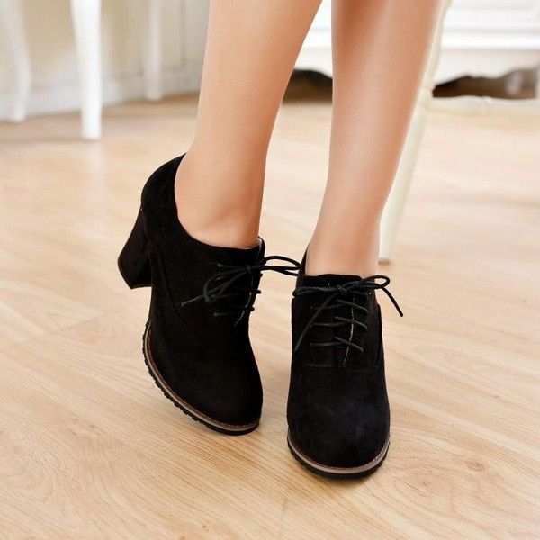 1000  ideas about Chunky Heel Shoes on Pinterest  Chunky heels