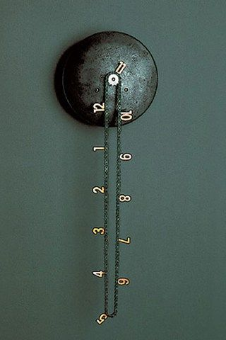 catena_bike_chain_clock
