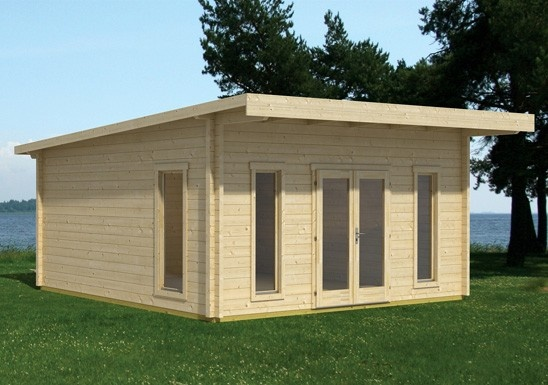 This is one of our best selling products as it is really easy to install, brilliant quality and value and is great as a home office or studio. (http://www.cabinsunlimited.co.uk/cheltenham-log-cabin-garden-building/)