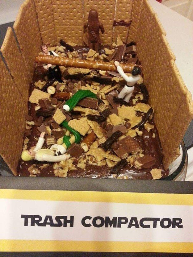 """The birthday cake that that probably smells pretty great, actually. 