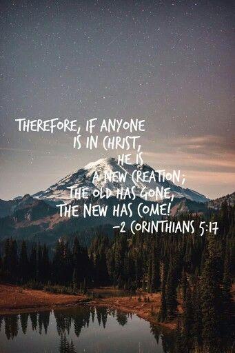 2 Corinthians 5:17                                                                                                                                                      More