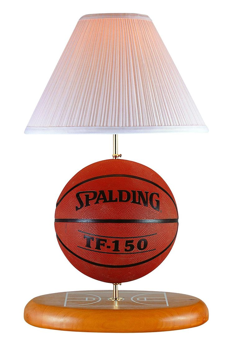 Basketball Lamp |Pinned from PinTo for iPad|