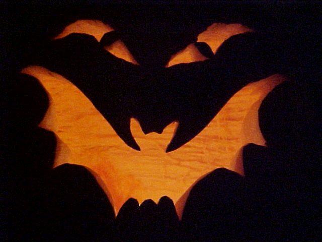 Bat Pumpkin - Jack-o-lantern