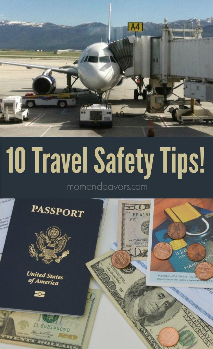10 Travel Safety Tips #travel #LifeLocksafety #sponsored