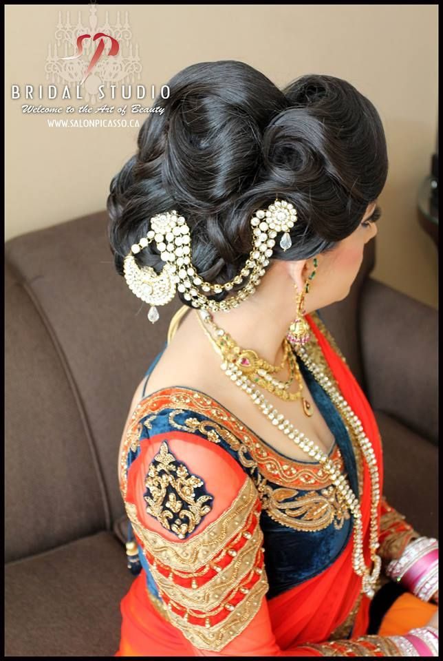 indianbazaar: Hair and Makeup: Salon Picasso Bridal Studio