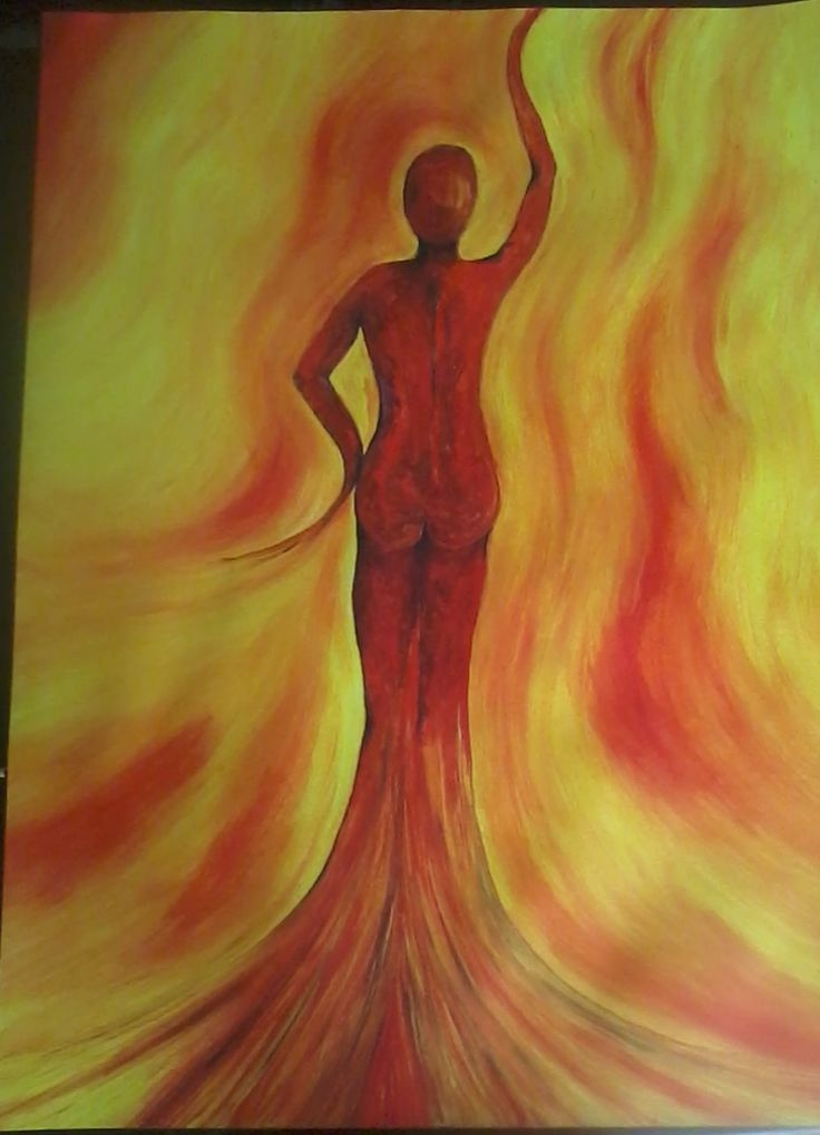 acrylschilderij A3 formaat. vrouwenpower