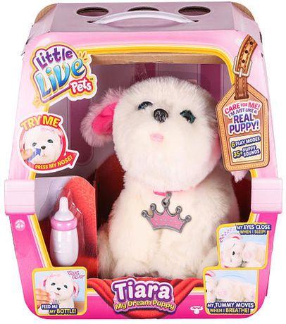 Little Live Pets My Dream Puppy Playset - Tiara