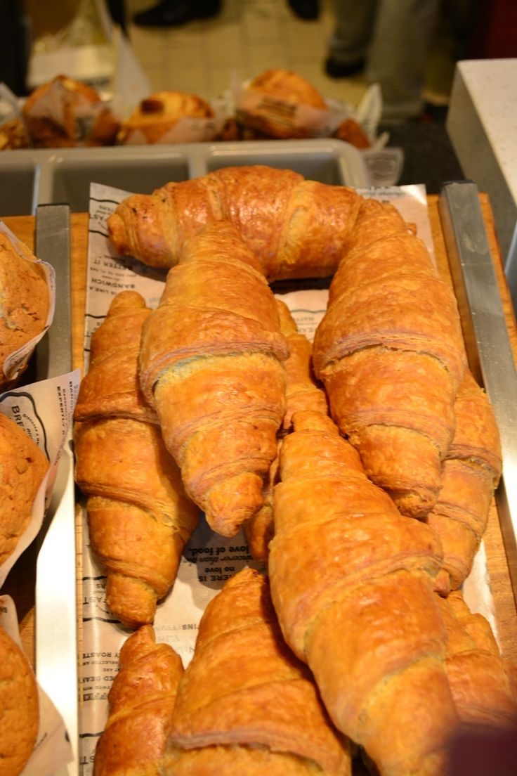 Tantalize your taste buds and try one of the famous and delicious #Croissants from Mugg and Bean. #food #Croissant