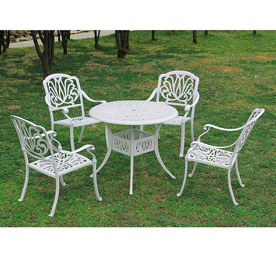 As 25 melhores ideias de cast aluminum patio furniture no for Mobiliario de patio