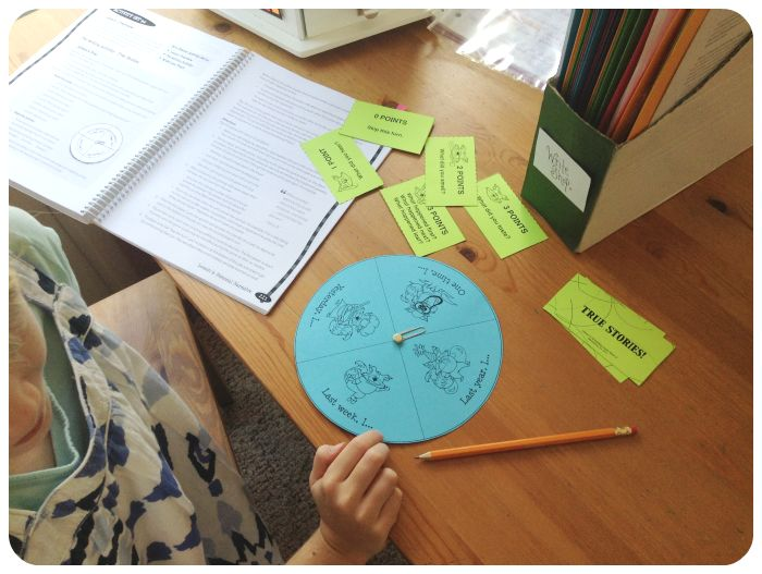 Using Games and Manipulatives to make Writing Fun, Engaging, and Less Intimidating {with WriteShop Junior}