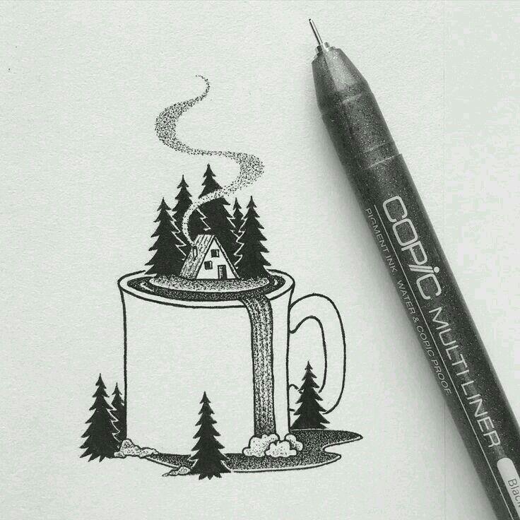 Free hand doodling