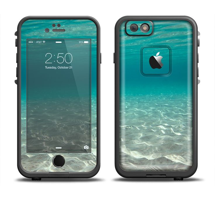 The Under The Sea Scenery Skin Set for the Apple iPhone 6 LifeProof Fre Case from Design Skinz, INC.