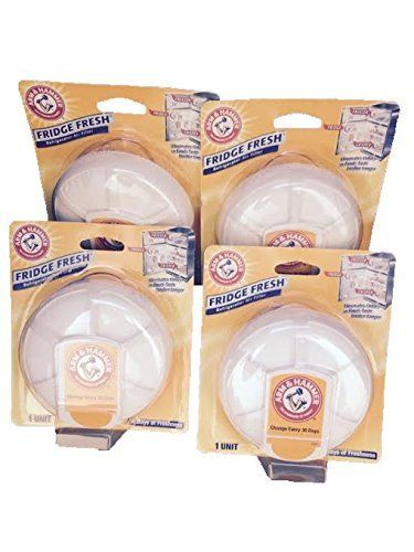 Fridge Fresh Refrigerator Air Filter By Arm & Hammer, Eliminates Odors-4 Total Air Filters