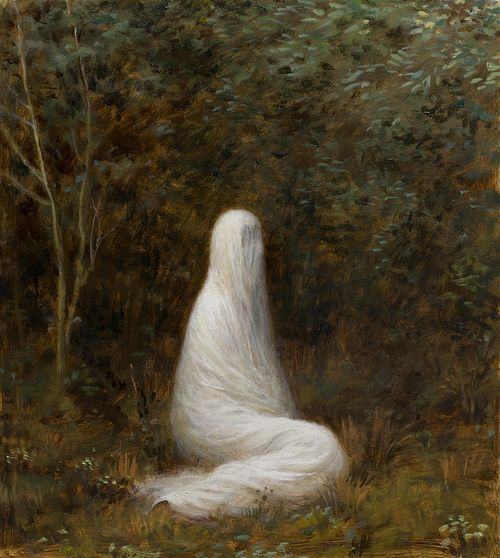 The Grove (2012) oil on canvas | 14 x 12.5 inches. by Aron Wiesenfeld