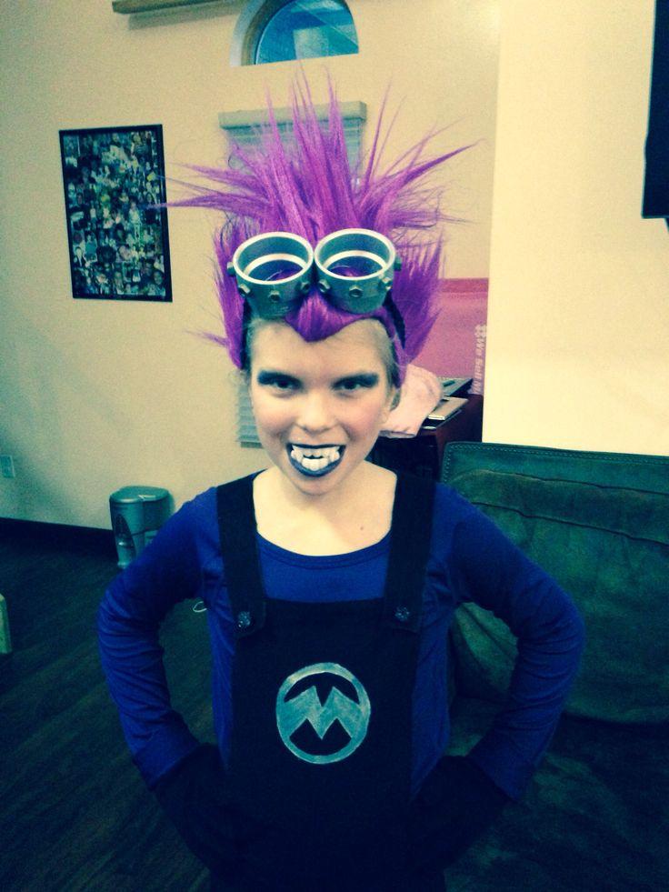 Evil minion costume for Halloween
