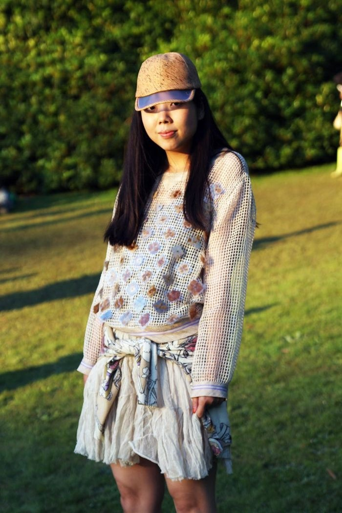 Susie Bubble looking amazing at Port Eliot festival...http://networkedblogs.com/AcaWq