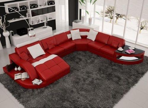 Sử dụng sofa da trong thiết kế trang trí phòng khách