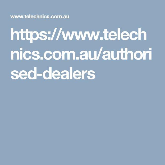 https://www.telechnics.com.au/authorised-dealers