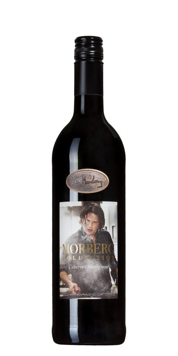 Per Morbergs chilenare gjord på 100% Cabernet Sauvignon sålde 109000 flaskor 2016. Per beskriver det som ett balanserat sällskapsvin med uppkavlade ärmar som passar till smakrika kötträtter och mustiga grytor.