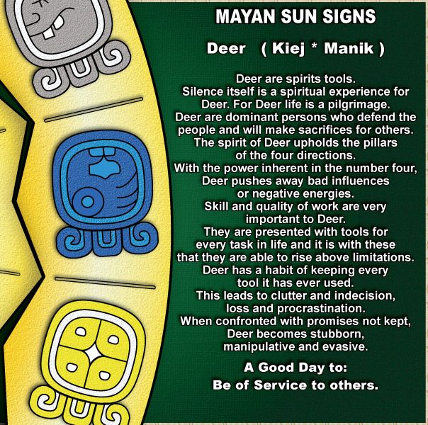 What Is Your Mayan Sun Sign?