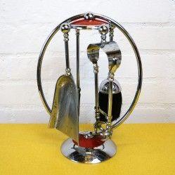 Mid century fireside companion set vintageactually.co.uk