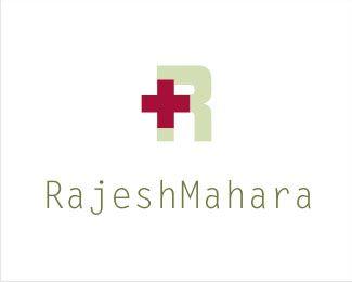 Delightful RajeshMahara Healthcare Logo