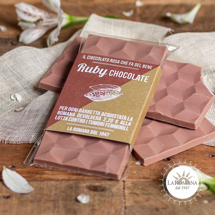 "#rubychocolate #rubylicious Neben dem neuen Geschmack ""Stracciatella roh mit Schokolade …   – #rubylicious #rubychocolate  RUBY CHOCOLATE"