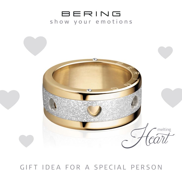 Heart; Love; Show your emotions; Individual rings; Arctic Symphony Collection