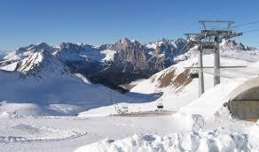 In inverno, per sciare