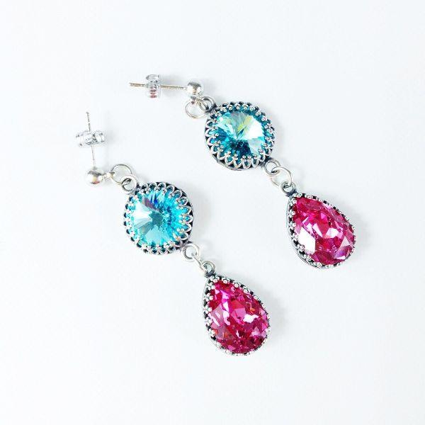 Princess Orecchini Princess Earrings Handmade only by Daffodil Bijoux