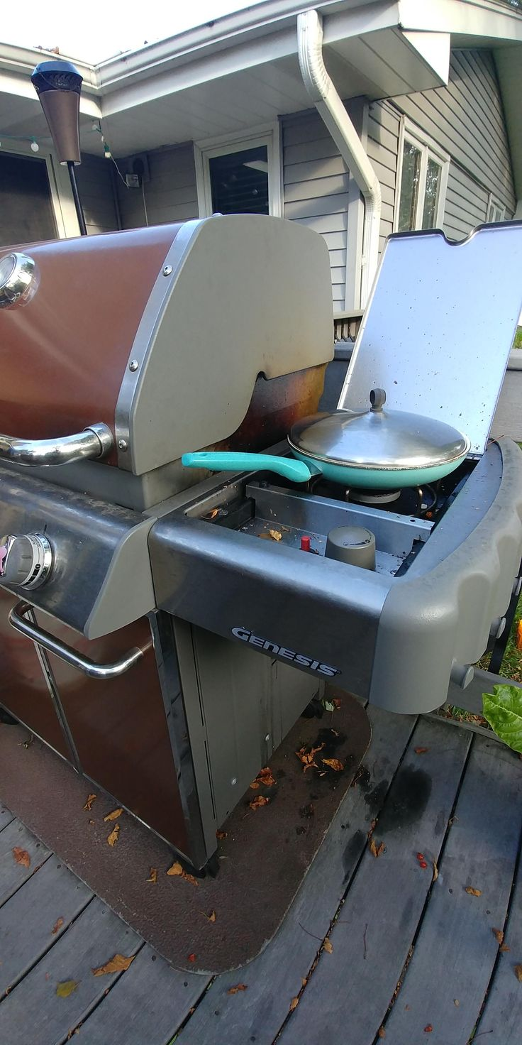 Anyone modify their Weber Genesis Side Burner? I find the low setting to not always be low enough when making something like a roux #grilling #BBQ #Deals #recipes #discounts #summer #foodie #food #recipe #free