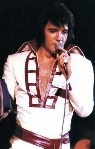 """Elvis in the Ladder Suit/ """"That's The Way It Is"""" 1970"""