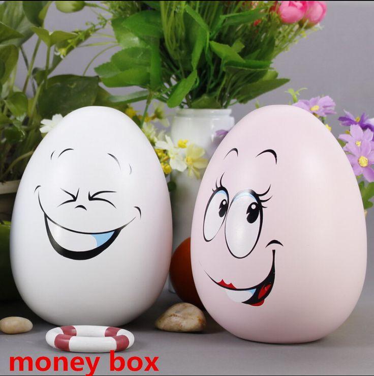 Дешевое Большой размер горячая распродажа супер прекрасный улыбающееся яйцо хранения копилка керамическая копилка банку только в выдвижной копилка монет банка 4 стиль, Купить Качество Коробки и лотки для хранения непосредственно из китайских фирмах-поставщиках:                           Высокое качество нетканые стекаются простой цветок обои до