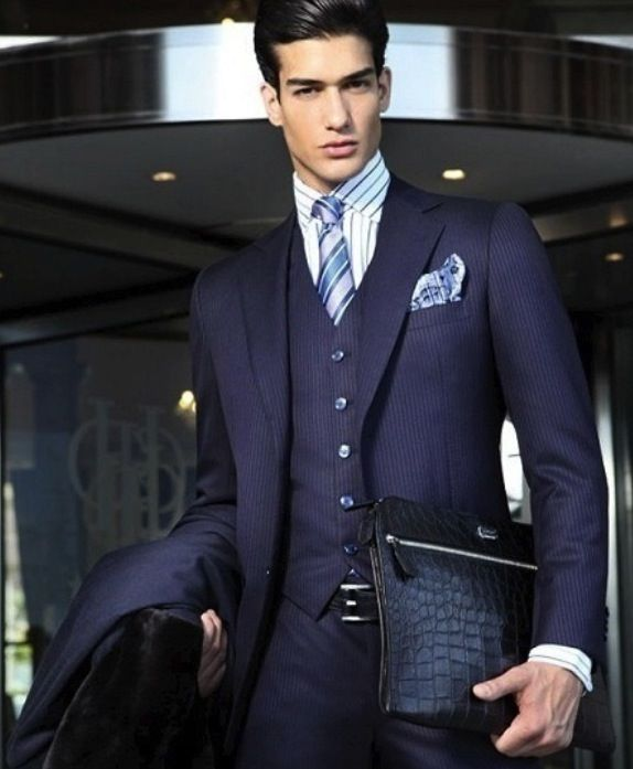 195 best images about Men's Suits on Pinterest | Menswear, Men ...
