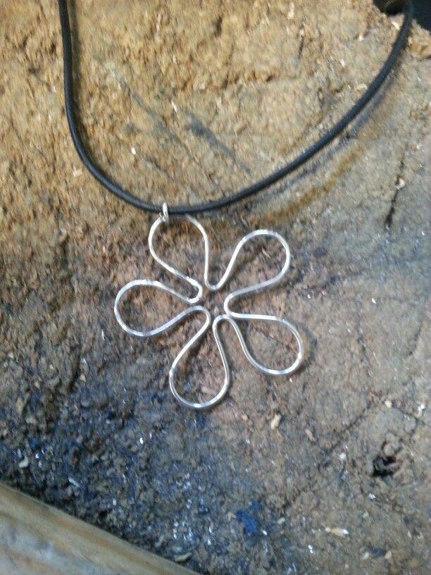 Flower, i silver