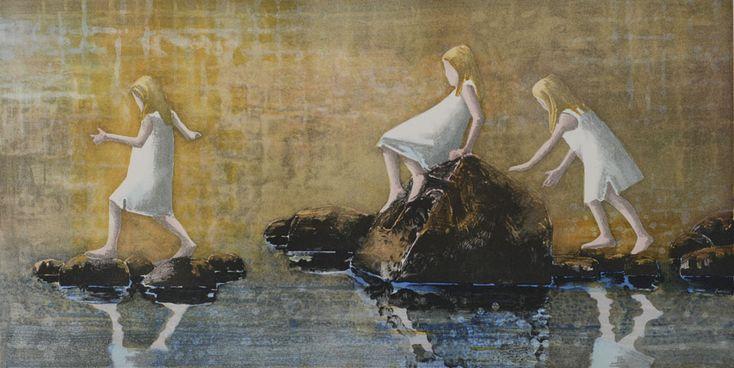 Lars L�ken - Bl�tt vann