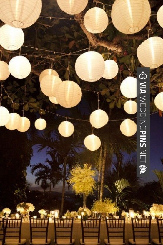 35 best cool wedding decor trends 2016 images on pinterest wedding wedding decor hanging flowers lanterns chandeliers lights junglespirit Image collections