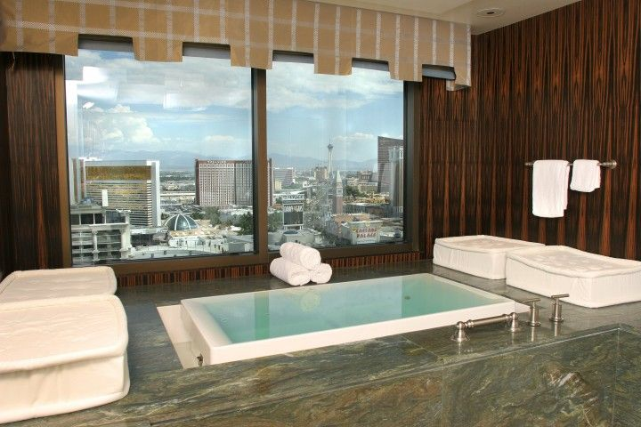 Caesars Palace spa suite is one of the best hotel suites in las vegas