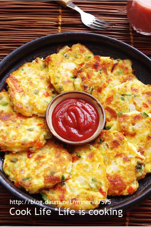 간단하게 만드는 감자두부전 – 레시피 | Daum 요리